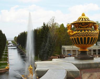 Peterhof Canal St. Petersburg Russia