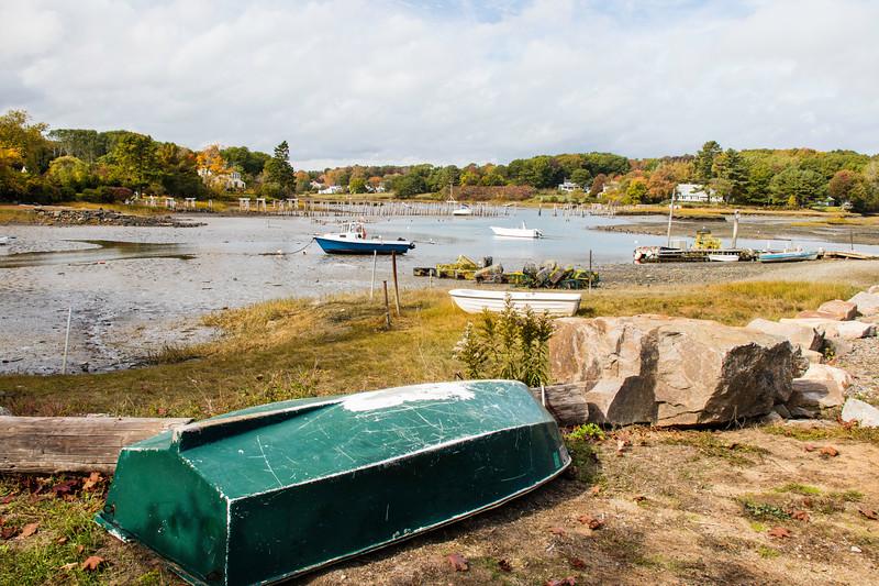 Low tide in Maine