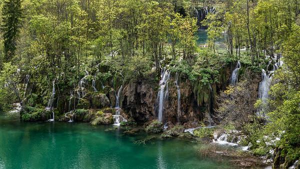 Plitvice Lakes Waterfalls in Croatia