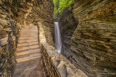 Cavern Cascade, Watkins Glen State Park, New York, USA
