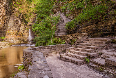 Central Cascade, Watkins Glen State Park, New York, USA