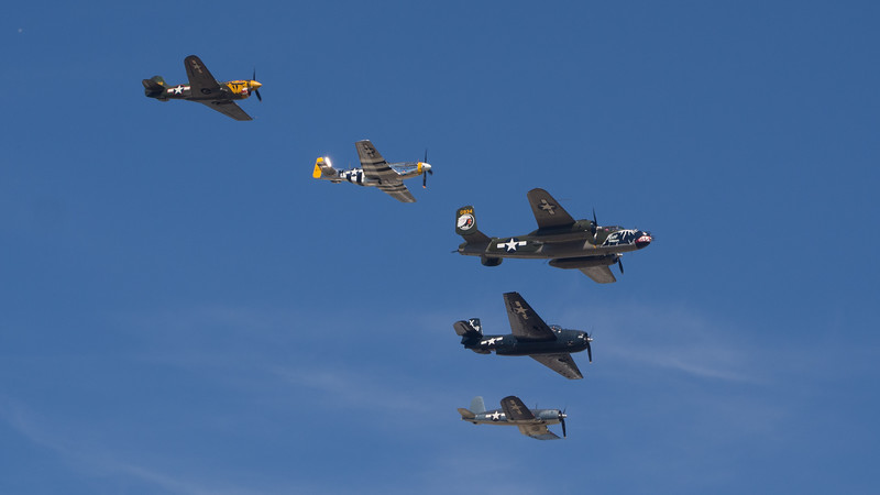 WWII Flyover