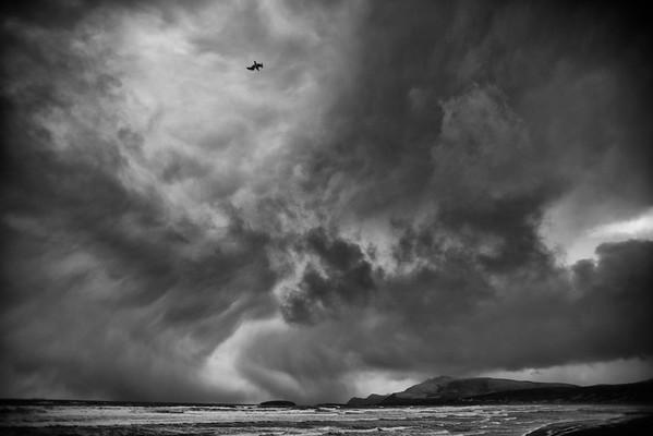 """Winter arrives in Achill"""