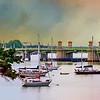 bridge of lions St Augustine, Florid