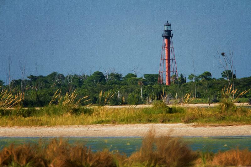 Anclote Lighthouse, Tarpon Springs, Florida taken by Jerry Dalrymple