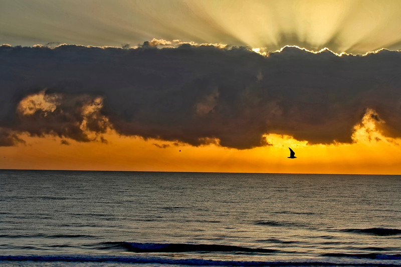 St. Augustine, Florida sunset by Jerry Dalrymple
