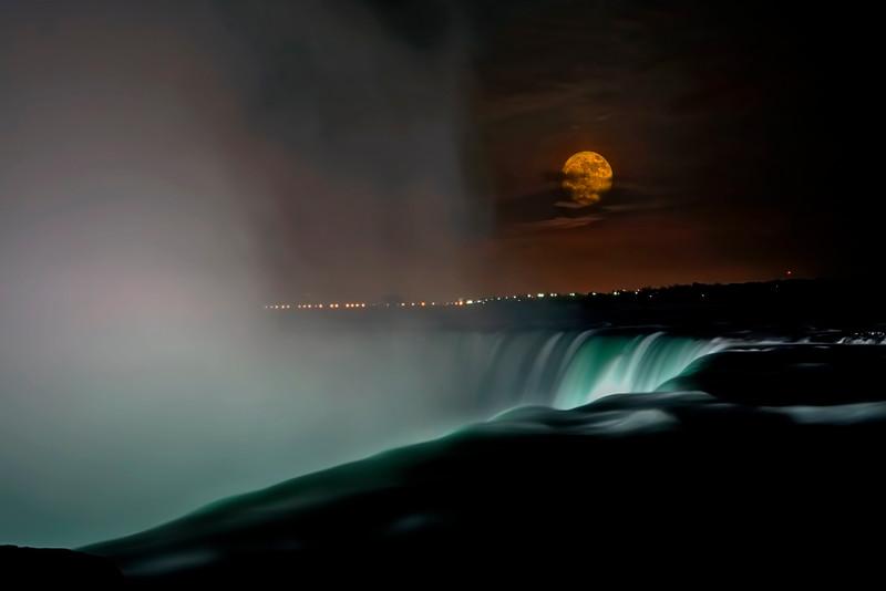 Niagara's Horseshoe falls