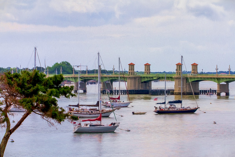 Bridge of Lions, St Augustine, Florida taken by Jerry Dalrymple