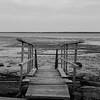 Low tide bridge