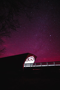 The Hogback Covered Bridge of Madison County Iowa