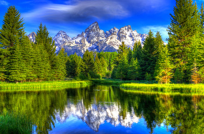 Grand Tetons Reflects its majestic ways