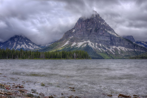 Two Medicine Lake and its breathtaking beauty