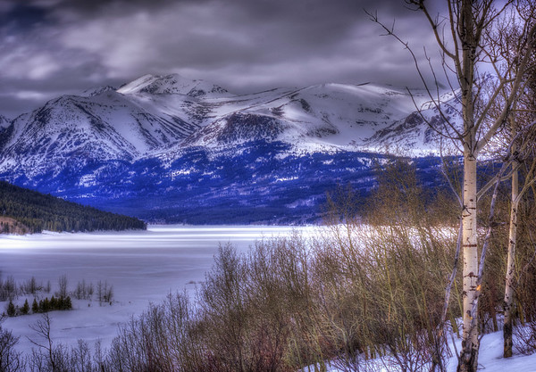 The Frozen Tundra of Two Medicine Lake