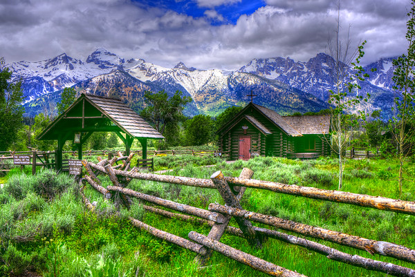 The Tetons in all its glory