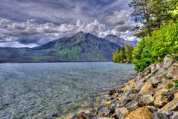 A moment in time at Lake McDonald
