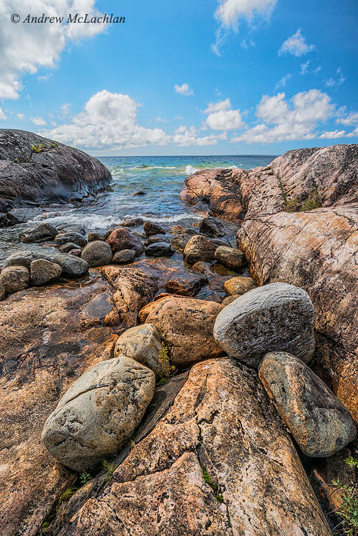 Lake Superior in Lake Superior Provincial Park