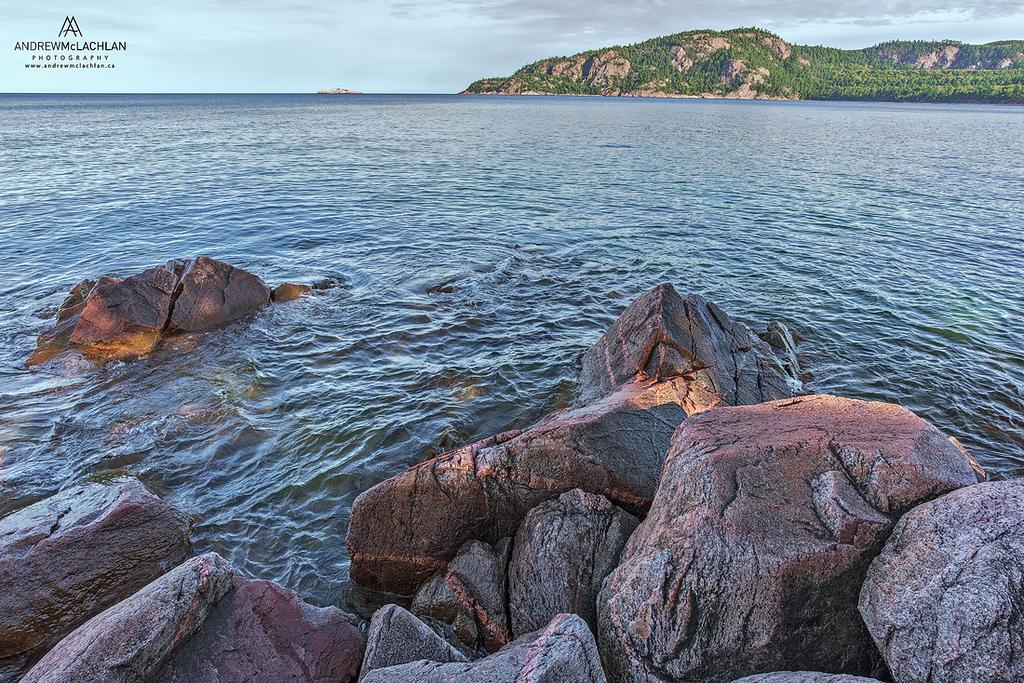 Alona Bay on Lake Superior, Ontario