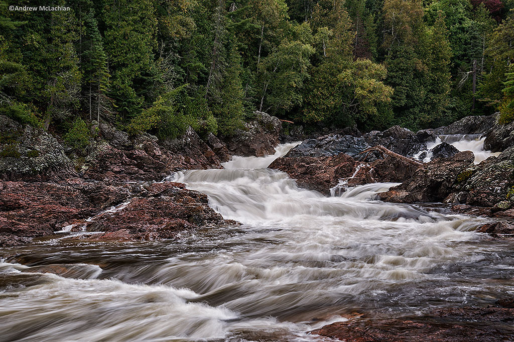 Chippewa Falls on the Chippewa River, Ontario