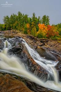 Wilson's Falls, Muskoka River, Bracebridge, Ontario, Canada
