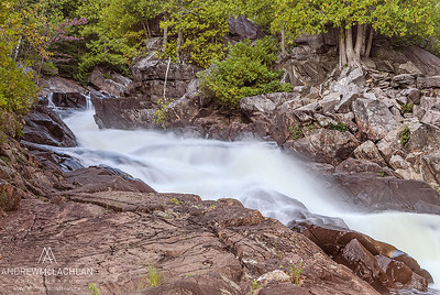 Ragged Falls, Ontario, Canada