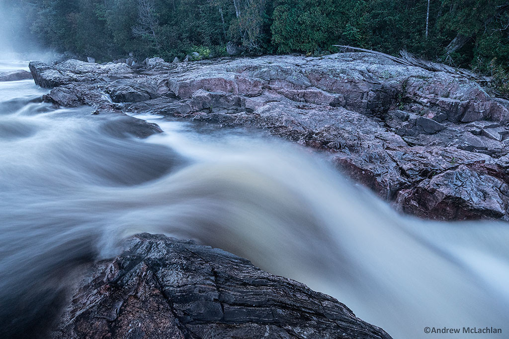 Sand River in Lake Superior Provincial Park, Ontario