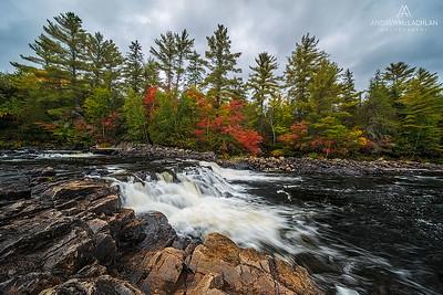 The Petawawa River, Algonquin Provincial Park, Ontario, Canada