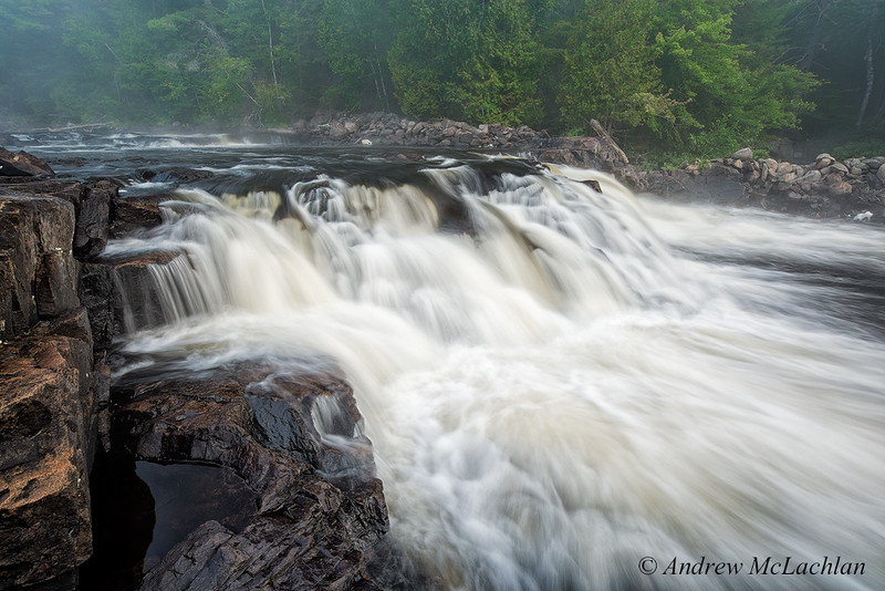 Petawawa River in Algonuin Provincial Park