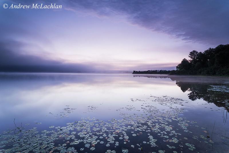 Early Morning Light at Lake Travers