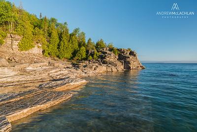 Halfway Log Dump, Bruce Peninsula National Park, Ontario, Canada