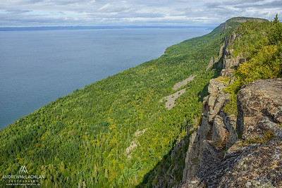 Lake Superior at Sleeping Giant Provincial Park, Ontario, Canada