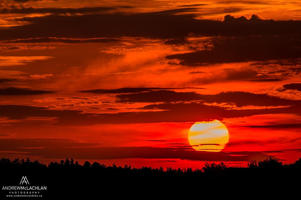 Sunset, Muskoka, Ontario, Canada