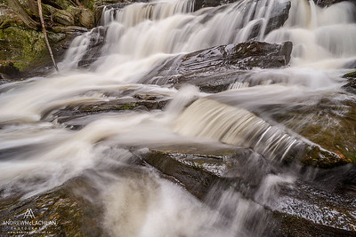 Little High Falls, Potts Creek, Bracebridge, Ontario