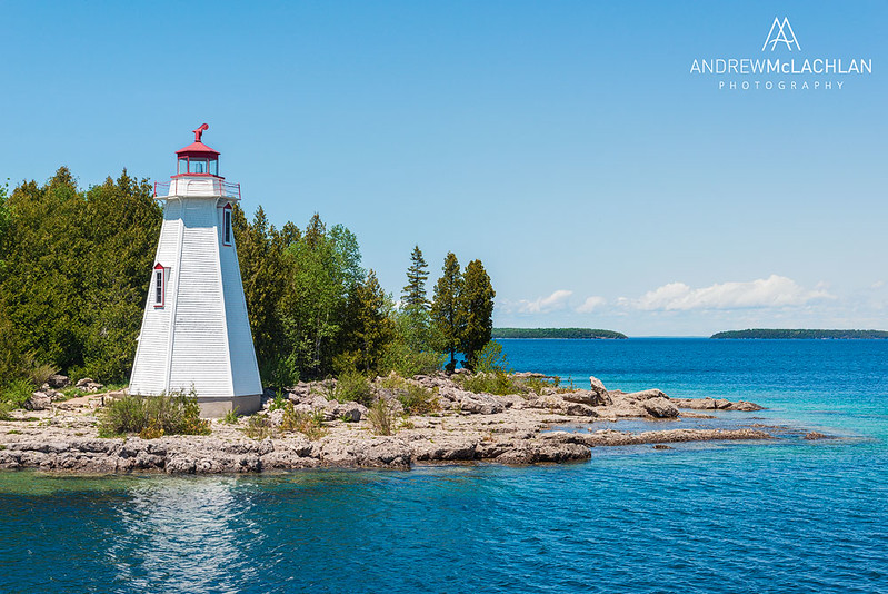 Big Tub Lighthouse,Bruce Peninsula National Park, Ontario, Canada
