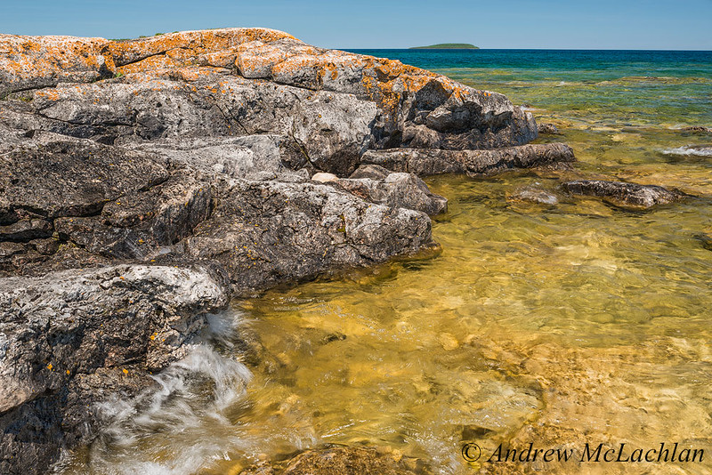 Dunk's Point on Georgian Bay in Bruce Peninsula National Park