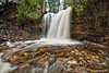 Hilton Falls on the Sixteen Mile Creek on the Niagara Escarpment, Halton Hills, Ontario