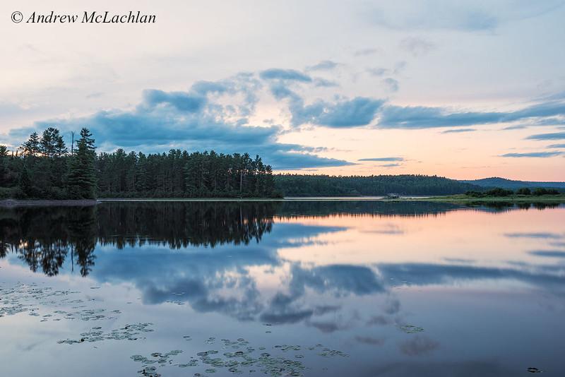 Daybraek on Lake Travers