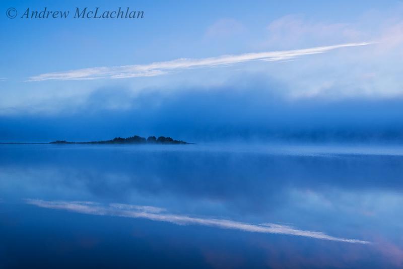 Pre-dawn Light on Lake Travers