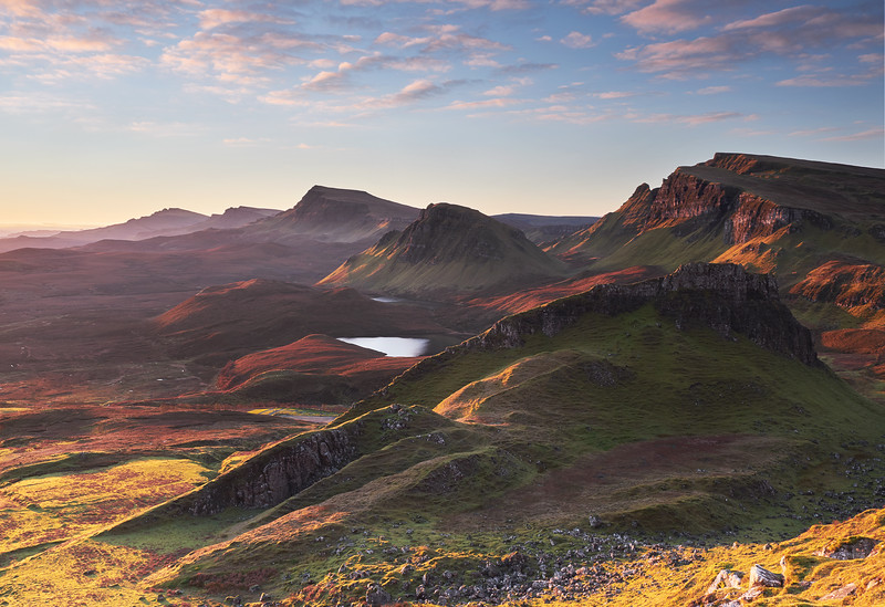 Sunrise over the Quiraing