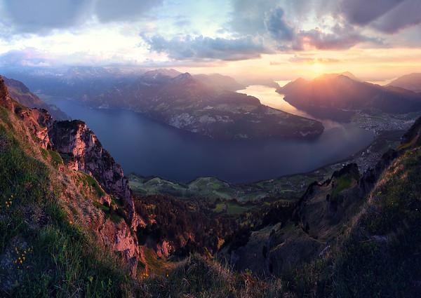 Fjord of Switzerland