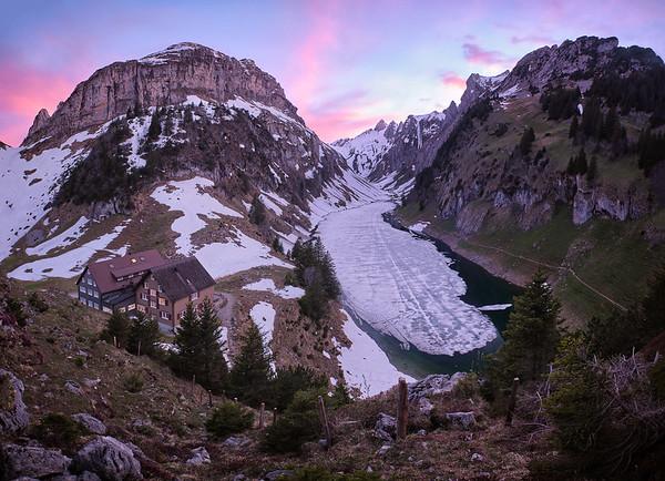 Alpine fjord