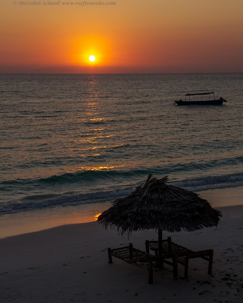 A Pemba Island Sunset