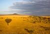 Sunrise over the central Serengeti