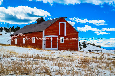 Old barn in Cripple Creek, Colorado