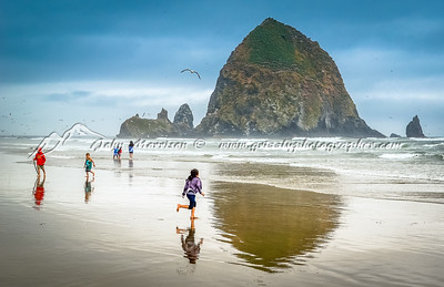 Beach scene Oregon
