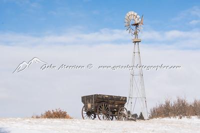 Winter scene in Colorado