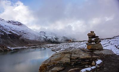 Empire Lake Chalet view