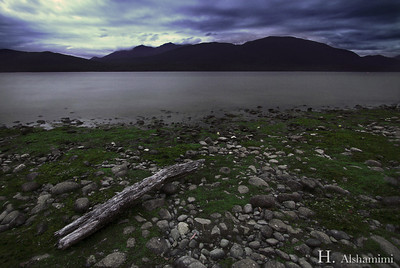 Lake Te Anau at Dusk