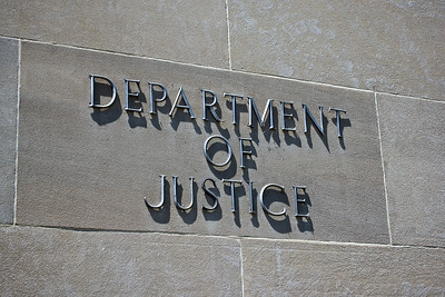 Department of Justice Sign