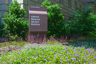 Sign for Internal Revenue Service