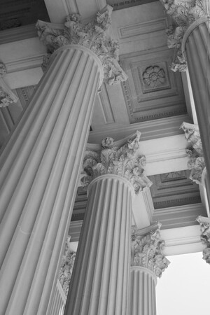 Corinthians Columns at National Archives